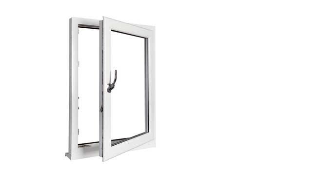 PVC draai/kiepramen voor ventilatie en veiligheid