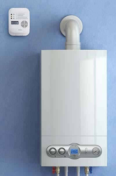 Plaats voor de veiligheid een koolmonoxidemelder bij je verwarmingsketel