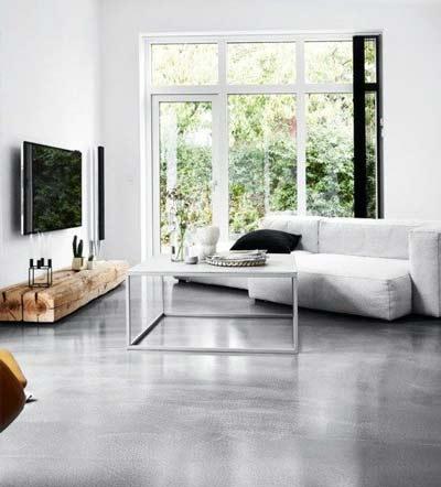 Leefvloer van beton