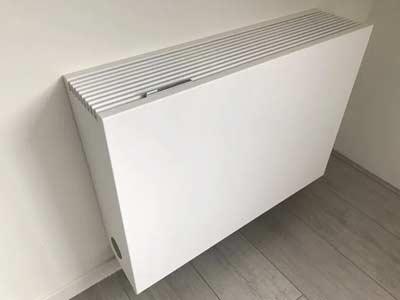 Warmtepomp icm een LTV radiator