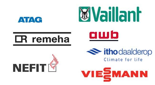 Welke merken verwarmingsketels heb je?