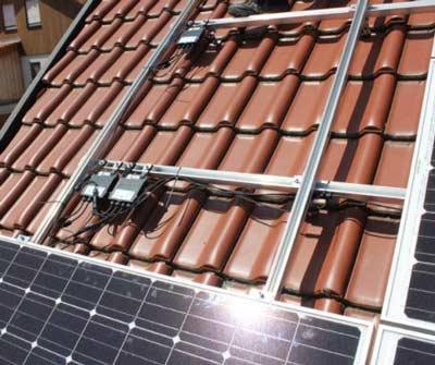 Power optimizers onder de zonnepanelen