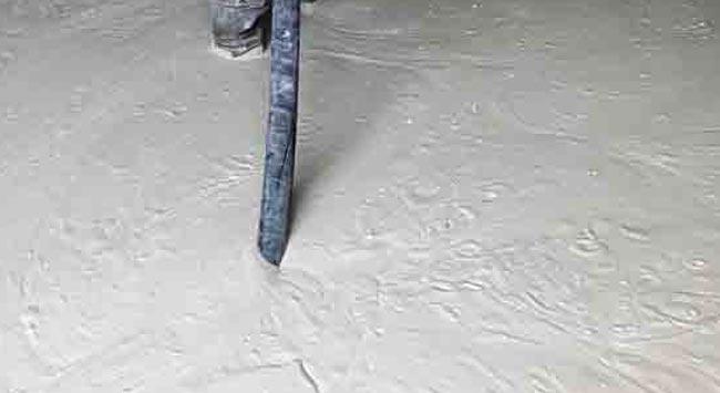 Schuimbeton voor bij vloerverwarming