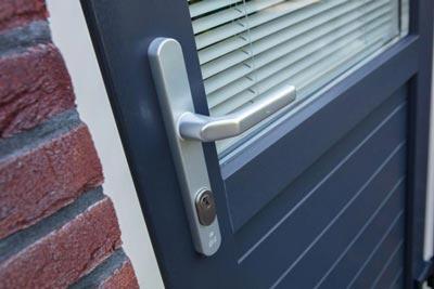 Veiligheid van PVC achterdeur