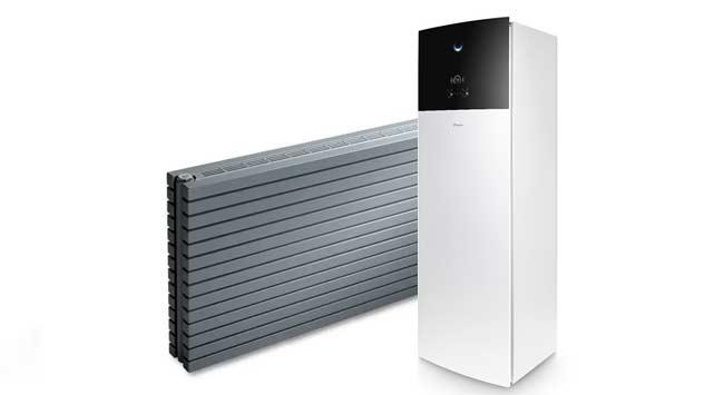 Warmtepomp in combinatie met radiatoren