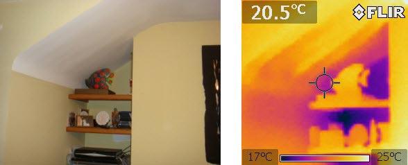 Warmteverliesmeting op zolder